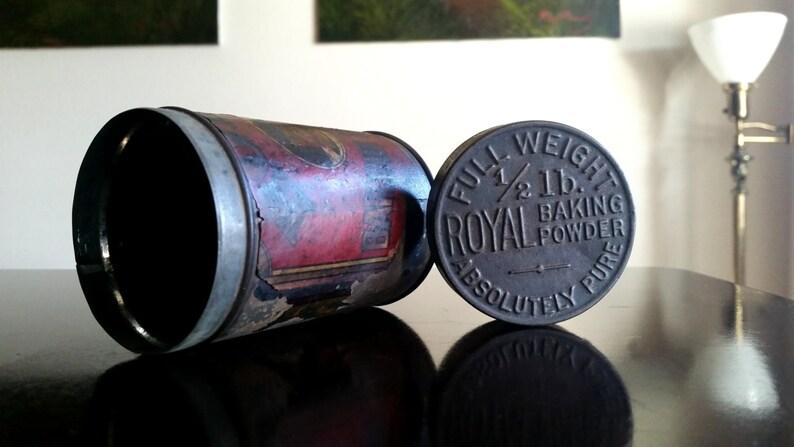 Vintage Royal Baking Powder Full Weight 1/2 Pound / image 0