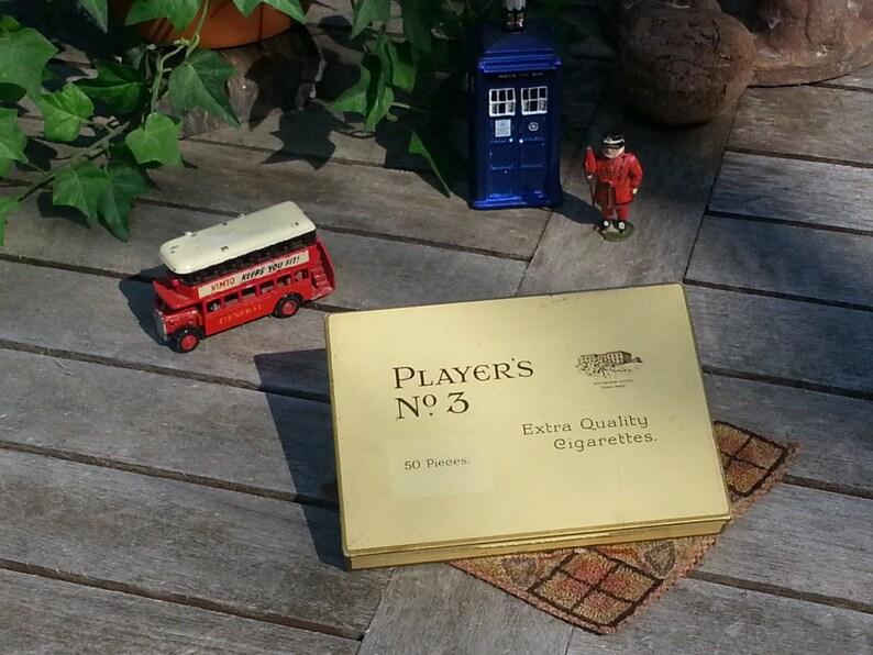 Rare England Players No.3 Extra Quality Cigarettes 50 pieces image 0