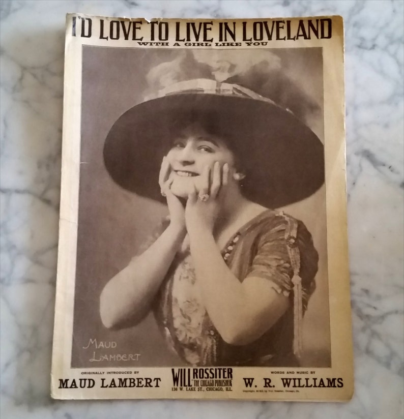 I'd Love To Live in Loveland with a girl like you image 0