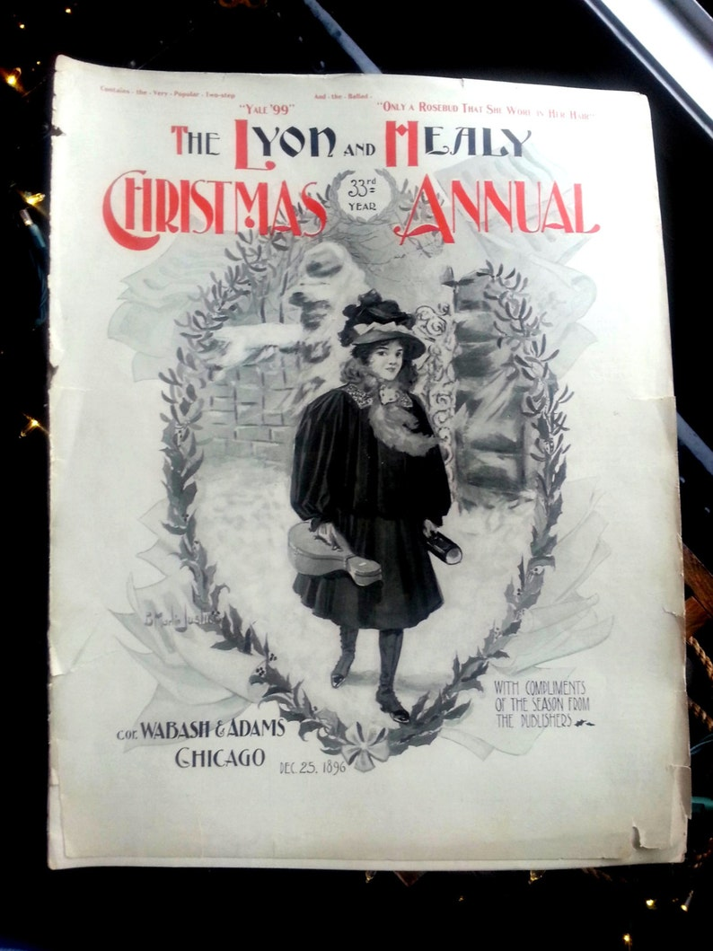 The Lyon and Healy Christmas Annual Catalog 1896 Musical image 0