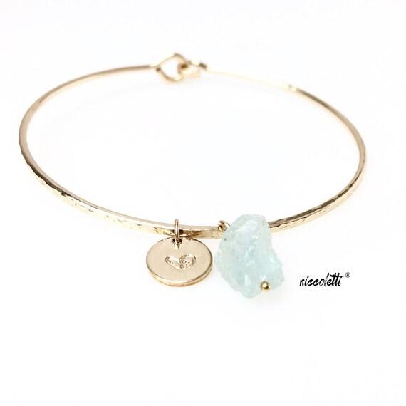 Aquamarine Multi-layer Ruby Stone Elephant Bracelet