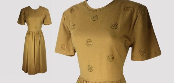 Berkeley Junior 1940s 1950s Vintage Wool Studded F