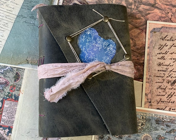 Written in the Stars: A Handmade Journal of Celestial Bodies and Astrology