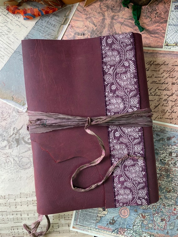 Laal Rang: A Special Leather Journal, Unique Journal, Art Journal, Sketchbook