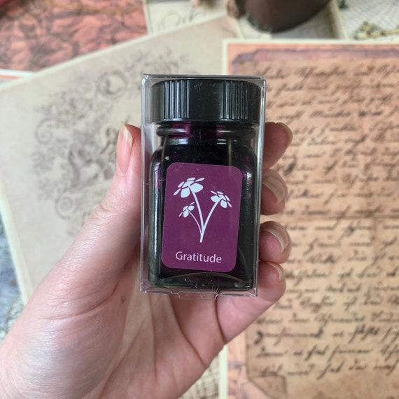 Purple Fountain Pen Ink, Monteverde Gratitude Magenta Ink, Pink Ink, Shading Ink, Calligraphy, Bullet Journal, Writing, Refillable