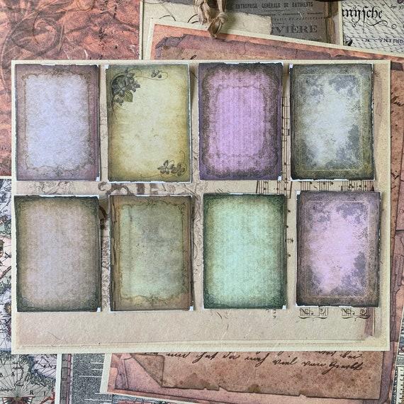 Shabby Victorian Stickers V2, Ephemera Set, Stationery Set, Gothic, Junk Journal Kit, Travel Journal, Sticker Set, Vintage Style, Scrapbook