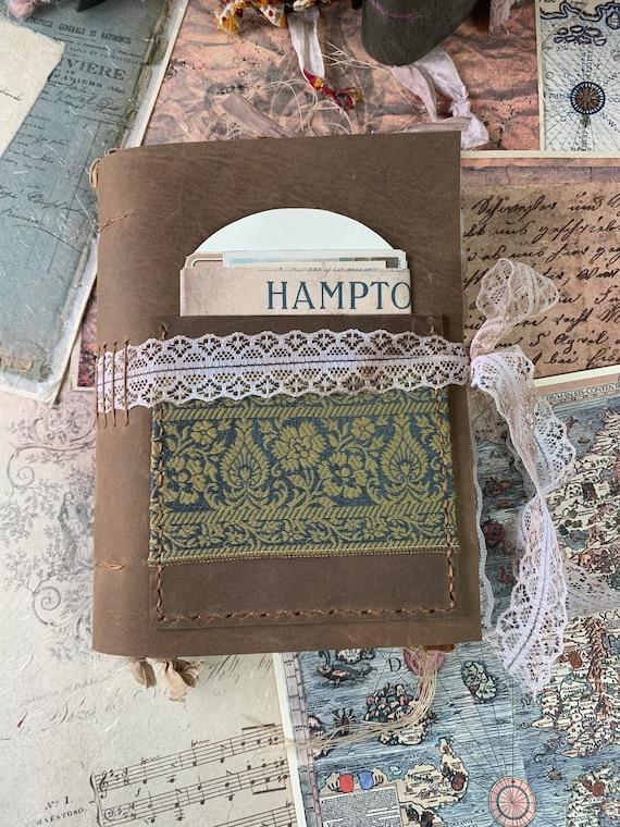 Granny's Journal: A Handmade Leather Junk Journal