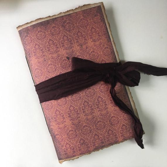 Renaissance Tapestry, Paperback Writing Journal, Notebook, Fountain Pen Friendly, Traveler's Notebook, Gift for Mom