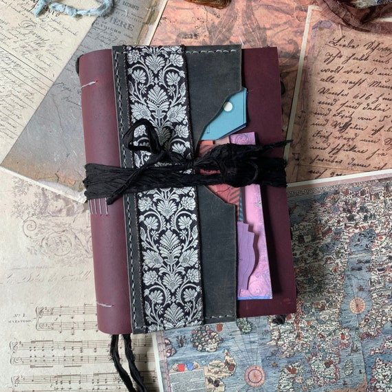 The Witching Hour: A Handmade Gothic Journal, Witches, Full Moon, Halloween