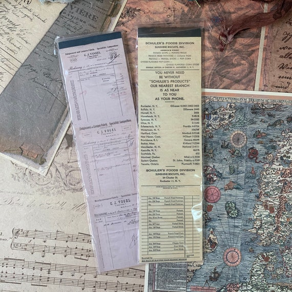 Vintage Tickets Paper Set, Junk Journal Kit, Ephemera Set, Stationery, Travel Journal, Vintage Style, Scrapbook Paper, Bullet Journal