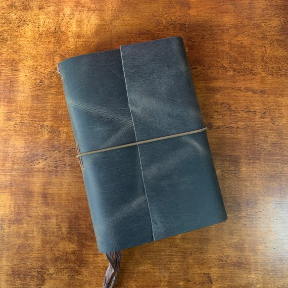 Bullet Journal, Leather Journal with Graph Paper, Leather Notebook, Fountain Pen Friendly Writing Journal, Travel Journal, Unique Journal