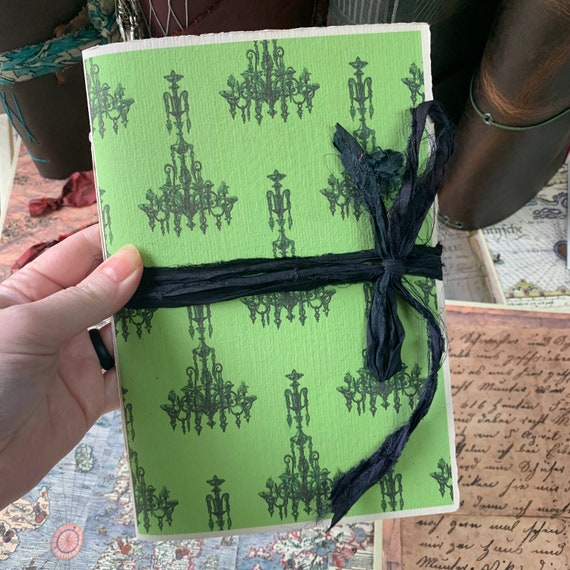 Gothic Journal, Paperback, Writing Journal, Witchy Journal, Travel Journal, Notebook, Gifts for Mom, A5 TN Insert, Thick Paper, Notebook
