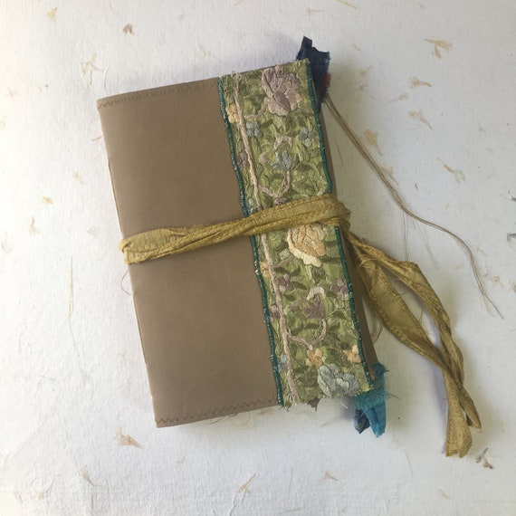 Handmade Leather Journal, Junk Journal, Writing Journal, Notebook, Travel Journal, Unique Writing Journal