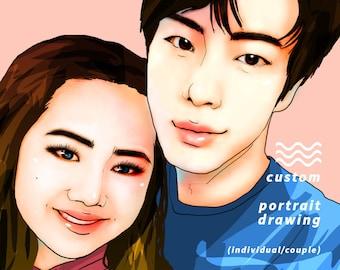 Custom Portrait Drawing!