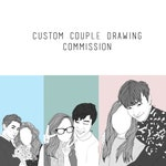 CREATE YOUR OWN Couple Lineart Drawing!