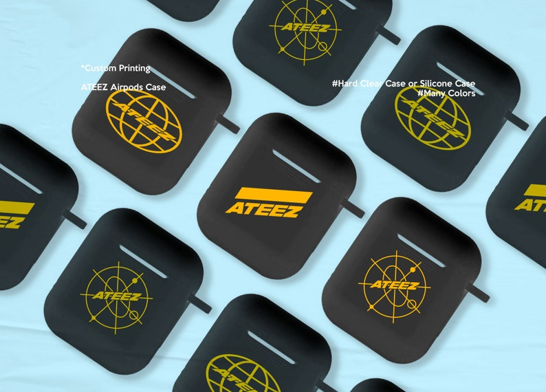 ATEEZ AirPods 1/2 Case image 0