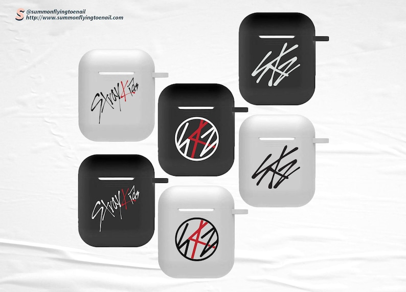 Stray Kids Logo Kpop AirPods 1 AirPods 2 Case image 0