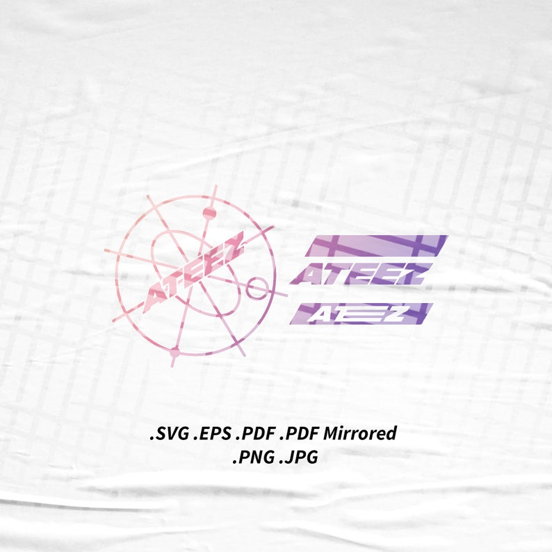 ATEEZ Treasure Tshirt SVG Png Eps Pdf Vector Cutting Cut File image 0