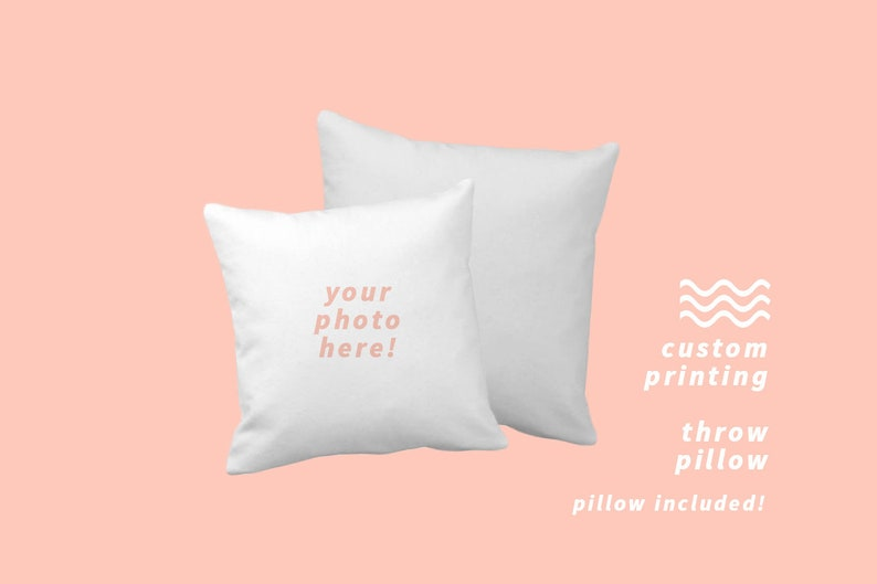 CREATE YOUR OWN Throw Pillow image 0