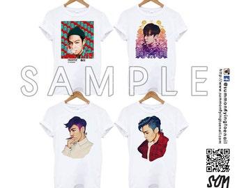 BIGBANG TOP Collection Tshirt