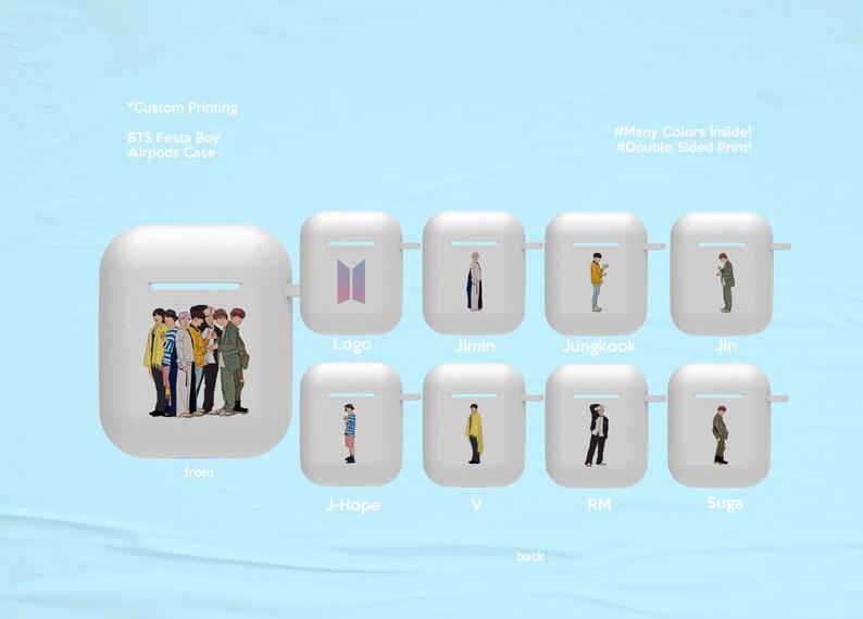 BTS Bangtan Boys Festa Boy AirPods Case image 0