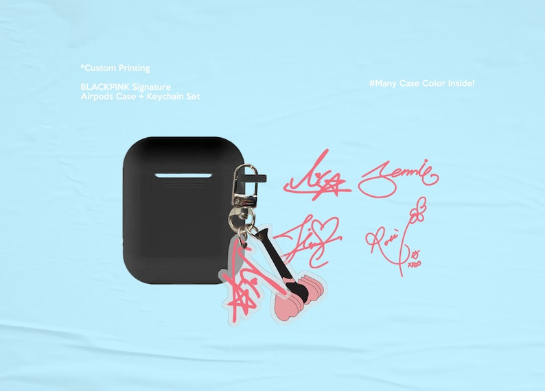 Blackpink Signature AirPods Case image 0
