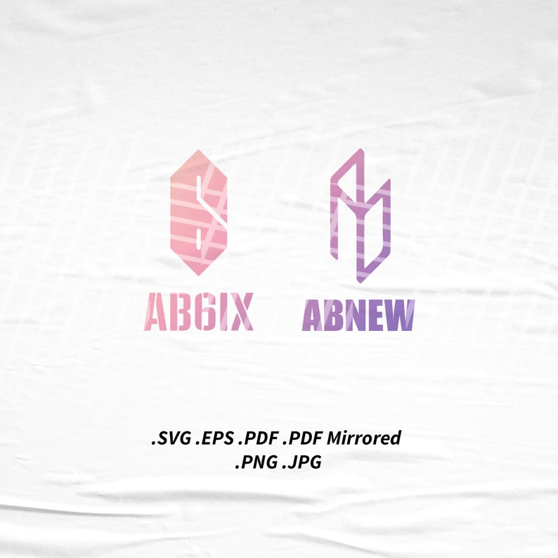AB6IX x ABNEW Logo SVG Png Eps Pdf Vector Cutting File for image 0