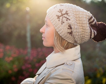 PDF KNITTING PATTERN - Elia Hat - Accessory