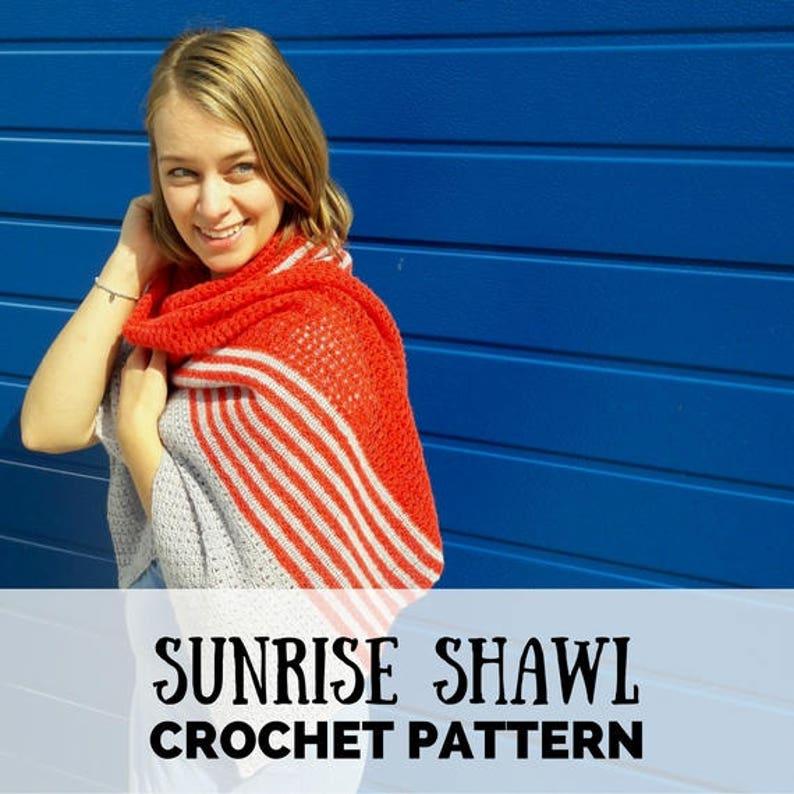 Crochet shawl pattern crochet shawl crochet pattern shawl image 0
