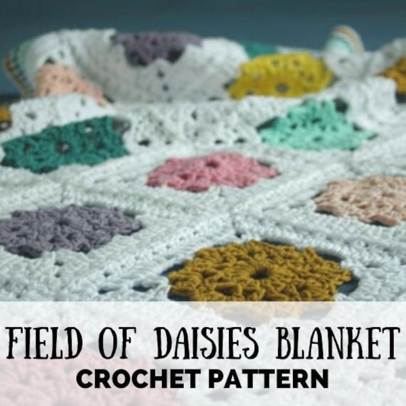Crochet blanket crochet pattern blanket crochet baby image 0