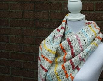 Scarf, shawl, handmade shawl, crochet shawl, triangle shawl, crochet triangle shawl, crochet cable shawl, crochet wrap, wrap