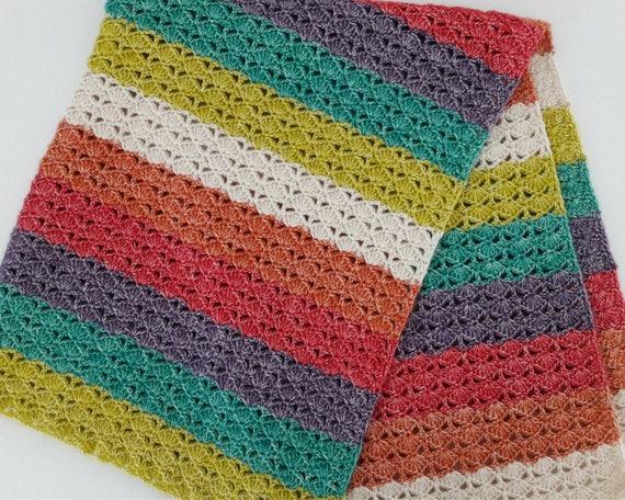 Crochet blanket: Sea Shell Blanket crochet pattern Crochet | Etsy