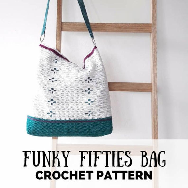 Crochet pattern crochet bag pattern call the midwife bag image 0