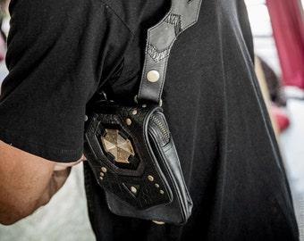 Labrynth holster -Men's leather pocket holster- Mens holster - Pocket holster - Leather holster