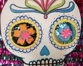 Day of the Dead Skull Pinata Day of the Dead Gift Day of the Dead Pinata Mexican Fiesta Theme Party Decor Mexican Center Piece