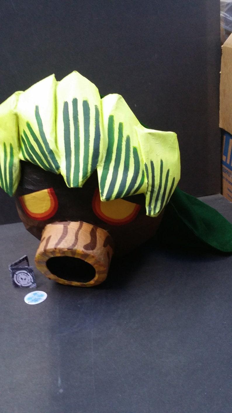 Legend Of Zelda Deku Cosplay Mask Deku Link Cosplay Wall Etsy