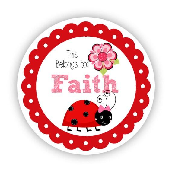 Personalizado De Hadas Y Mariposas Cumpleaños Redondo Etiquetas Pegatinas