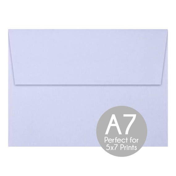 orchid purple a7 5x7 envelopes 5x7 invitation envelopes etsy