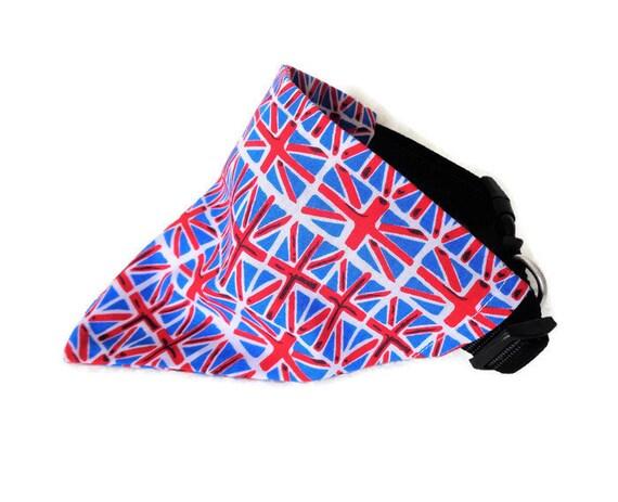 Beautiful Pride Union Jack Fabric Pet Dog Bandana Easily attaches to any standard collar.
