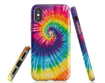 4a121761938 Tye Die, iPhone X Case, iPhone 8 Plus, Shockproof Case, Tie Dye Case, iPhone  7 Case, iPhone 8 Case, iPhone 6, iPhone 7 Plus, Tie Dye Style