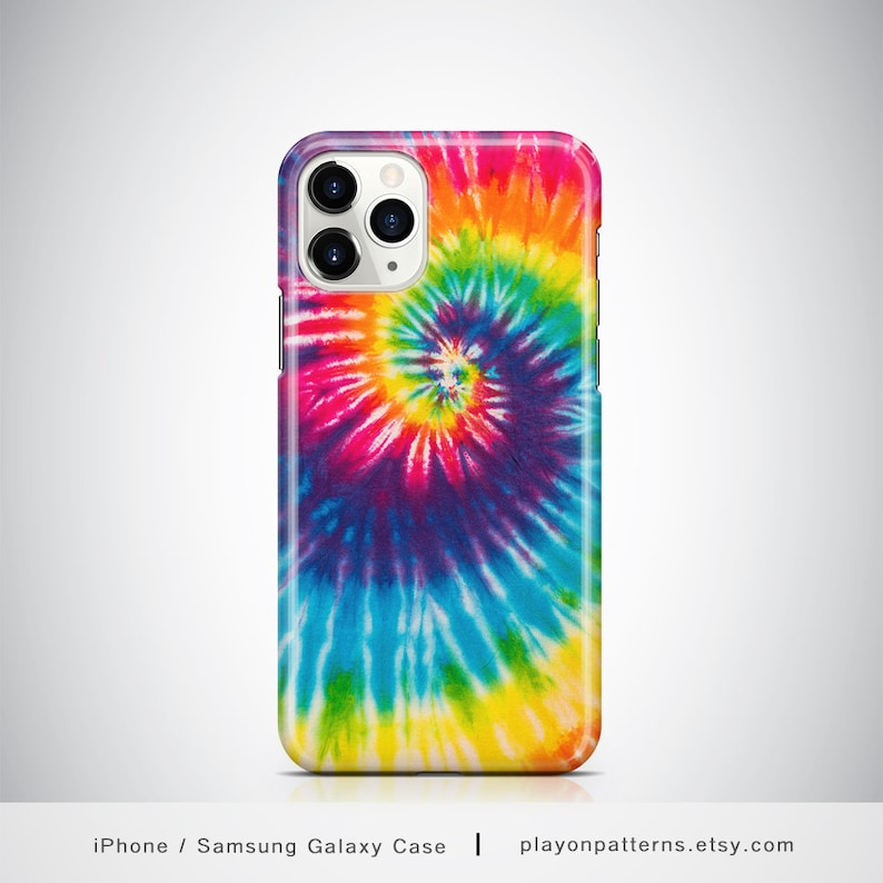 Tye Die iPhone X Case iPhone 8 Plus Shockproof Case Tie