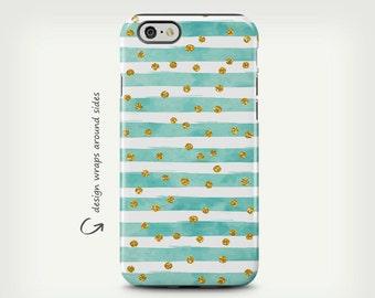iPhone 7 Case, iPhone X Case, iPhone 6 Plus Cases, Turquoise Lines, iPhone 8 Case, Galaxy S7 Edge Case, Galaxy S8 Case, Galaxy S8 Plus