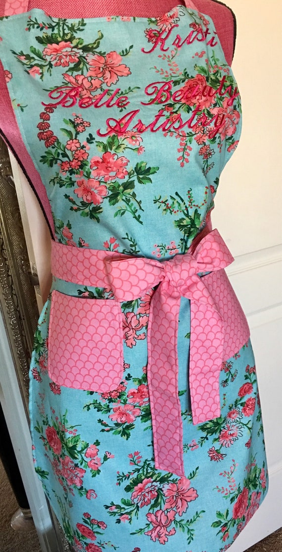Shabby chic apron