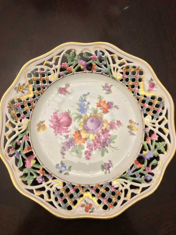 Schumann Royal Dresdner Art Chateau Salad Plate