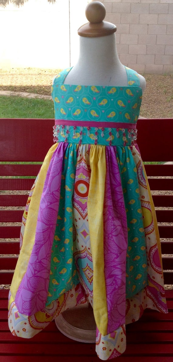 Party dress, little girls Easter Dress/party dress/custom made