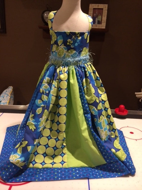 Little girls Party Dress/ tea party/ birthday dress