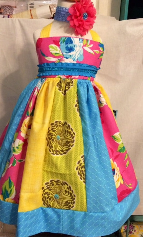 Party dress for girls, size 2T dress, birthday dress, tea party dress