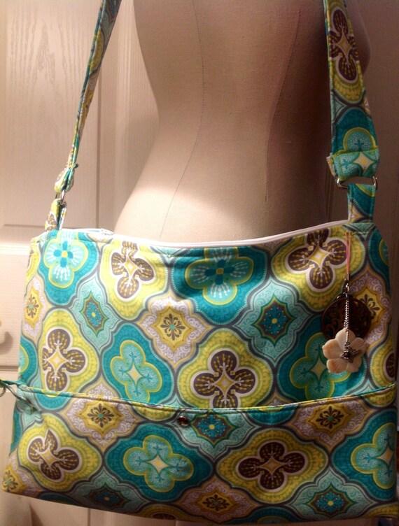 Custom large computer bag/shoulder purse