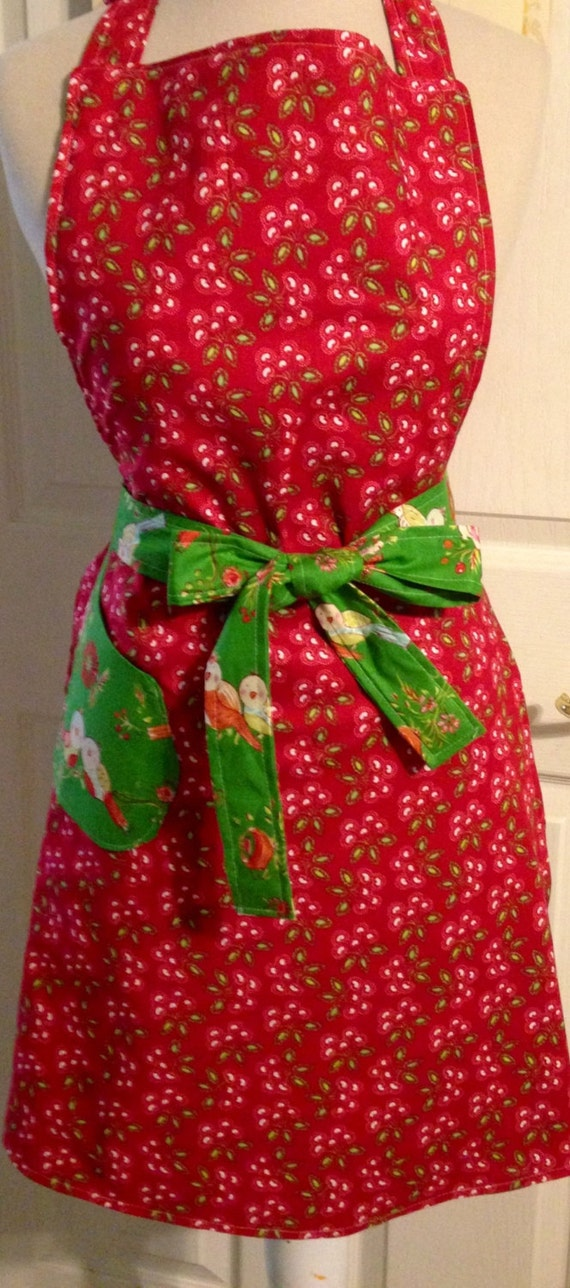 Love and joy reversible apron