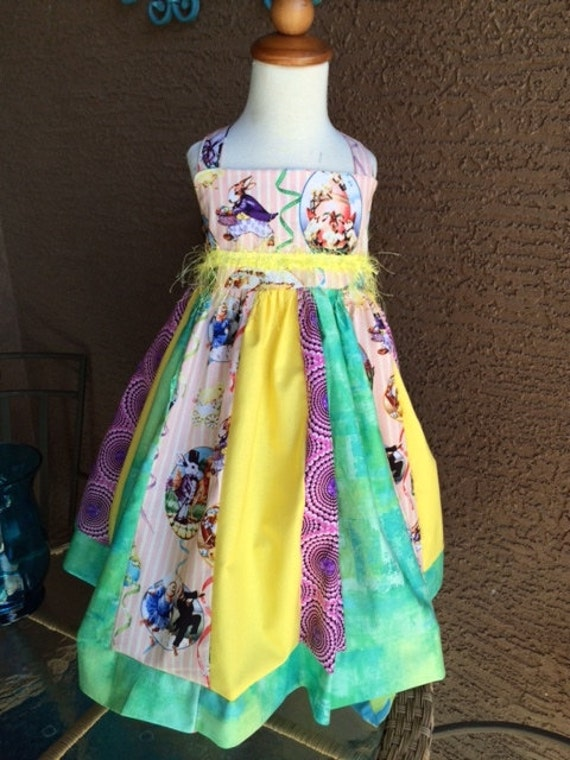Easter dress/little girls easter dress/holiday dress/ party dress